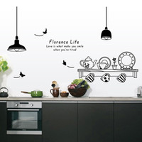 animal wall letters - Kitchen Utensils Butterfly Letter Removable Wall Stickers Art Decals Mural DIY Wallpaper for Room Decal cm H12013