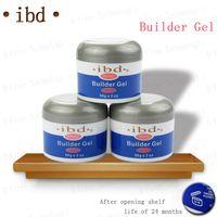 acrylic nail extensions - Acrylic nail Gel saloon Clear IBD Builder Gel IBD Builder Gel oz g Strong UV gel for nail art false tips extension