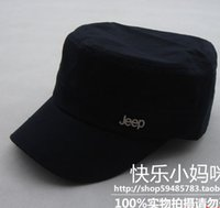 Wholesale Cool brief paragraph military hat general three color cadet cap