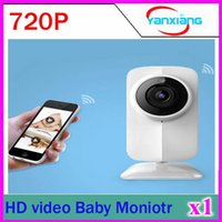 Wholesale 1pcs MP HD Video Baby Monitor and Wireless Security Camera Support Voice calls P T Night Vision ONVIF Remote control Phone alarm ZY SX