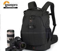 al por mayor tiempo foto-Mochilas del bolso de la foto de la cámara de SLR del AW Digital de Lowepro Flipside el 100% genuino, viene con TODA la cubierta del tiempo Envío libre
