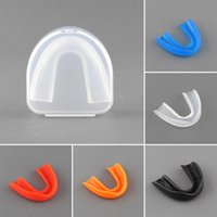 Wholesale Sports Mouth Guard Gum Shield Grinding Teeth Protect For Boxing Colors