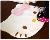 Wholesale 7pcs hello kitty carpet mats Fashion soft carpet