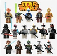 Wholesale SALE style Star Wars Clone Troopers Figures Buliding Blocks Minifigures Model Toys Bricks Compatible