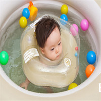 baby activity pool - 5 diameter cm Baby neck float swimming use inflatable rings swimming pool accessories baby activity supplies