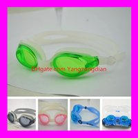 Wholesale AF Adult Swimming Glasses Goggles Waterproof Anti fog Uv Protection Silicone Swimming Glasses Swimming Equipment