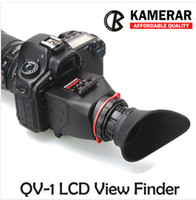 Cheap AUTHENTIC KAMERAR QV-1 LCD VIEWFINDER VIEW FINDER FOR CANON 5D MarK III II 6D 7D 60D 70D for Nikon D800 D800E D610 D600 D7200 D90