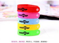 Cheap 6 PCS  lot travel Mosquito Killer Natural Citronella Mosquito Repellent Bracelets Hand Strap Insect Bracelet Band