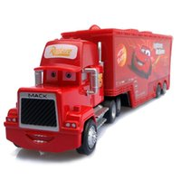 Wholesale New style Cars Mack Chick hauler Thai Pixar Car Lightning Hick Truck Toy car Kid color bk014b