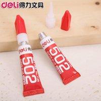 2015 calidad genuina pegamento del cianocrilato adhesivo fuerte pegamento rápido 502 3g mejor oferta especial