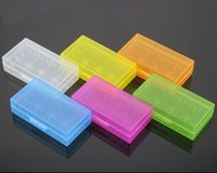 Wholesale 2015 New battery storage box storage box color CR123A battery protection box colors