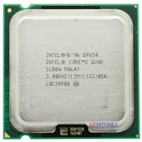 Wholesale Q9650 intel cpu intel core quad q9650 ghz mb mhz processor