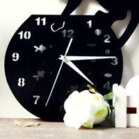 acrylic craft mirrors - Top Clock Creative Living Room European style Wall Clock Wall Clock Mute Craft Bell Waterproof Wall Clock