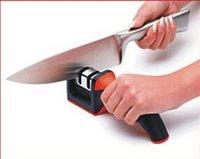 Wholesale Square handle Knife Sharpener double ceramic diamond Knife Sharpening Rods Kitchen Knives Tools