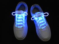Wholesale 20Pairs good quality LED Luminous shoelace Factory Price flashing shoelaces led shoe lace eye dazzling shoe accessories