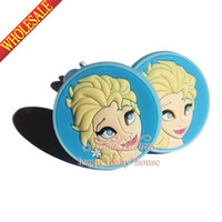 Wholesale Lovely Cute pair Frozen Elsa Anna Olaf Girls Hair Accessories Baby Girls Ornaments Elsatic Hair Ropes Cartoon Hairbands Christmas Gifts