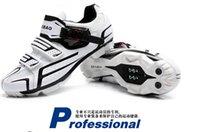 Revisiones Mtb cycling shoes-zapatos zapatillas de ciclismo MTB profesionales de los hombres de los zapatos de hombre zapatos de MTB bici bicicleta Auto-bloqueo Deportes Ciclismo Sapatos respirables