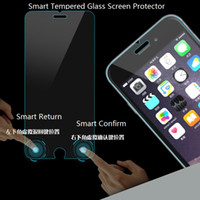 apple touch technology - New Technology mm D Mobile Phone Smart Touch Tempered Glass Screen Protector for Iphone6 inch Virtual keys