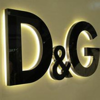 Wholesale led illuminated backlit letters d signs letters logo brand text lettering signage