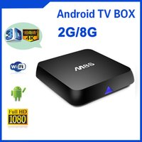Wholesale Android Smart TV Box M8S Amlogic S812 K G G XBMC Dual Band Wifi Full HD Android H HEVC Media Player Bluetooth Mini PC IPTV