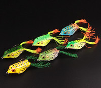 Wholesale New Arrival g cm Fishing Lure Lifelike Frog Hollow Body Soft Bait Pesca Fishing Tackle