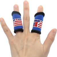 basketball finger bands - 2Pcs Elastic Basketball Sports Fingers Brace Support Wrap Band Protection Y0241