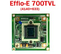 Cheap !free shipping! CCTV HD Sony Effio-E 700TVL Camera Board (4140+633) For Security Camera Effio 700TVL CCTV Chipboard OSD menu