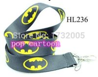 batman camera - New Superhero Batman Lanyards Neck Strap Keys Camera ID Card Lanyard LM0536