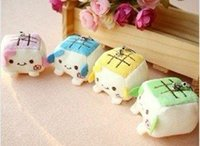 baby tofu - Japanese tofu pendant mobile phone chain Tofu Baby cell phone charms