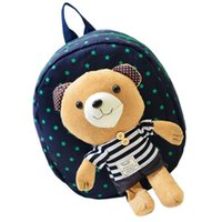 baby bag manufacturers - 2015 Brand Fashion Cotton Fabric Cartoon Baby Boy Girl Kids Children School Student Kindergarten Manufacturer Cute Backpack