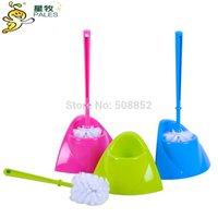 Wholesale Cleaning toilet brush toilet brush set with base plate toilet brush set high quality hot sale