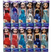 statues - 24 in Elsa Princess Dolls frozen Boneca Elsa and FROZEN Anna Good Girls Gifts Girl Doll cm High DHL