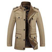 Wholesale 2015 high quality Men Jacket windbreaker brand new winter jacket men large size parka XL Coat Slim winter jacket