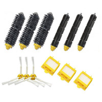 air brush cleaning - New Filters Beater Bristle Brush armed Side Brush for iRobot Roomba Series Hepa Filter
