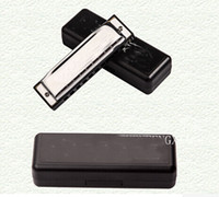 Wholesale Top quality Swan Holes Diatonic Harmonica Key of C Reed Blues Stainless Steel Mouth Organ Musical Instrument