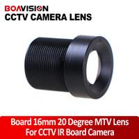Wholesale 16mm Degree Angle Fixed CCTV IR Board Camera Lens