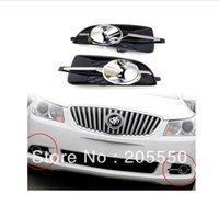 Wholesale Front fog Light cover fog Lamp Chrome cover per set fit For Buick LaCrosse