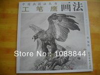 Wholesale Hawk Eagle Falcon Chinese tattoos stencils for Painting sketch Flash Reference China Book