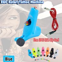 Other Material Machine artist materials - 2015 NEWEST Ego Rotary Tattoo Motor Machine Gun Liner Shader Tattoo Kits tattoo artists Colors