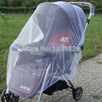 Wholesale New Arrival New Infants Baby Stroller Mosquito Net Buggy Pram Protector Pushchair Fly Midge Insect Bug Cover Sizes