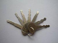key tool - Locksmith tool full functional Master key to open door lock house lock picking tool