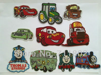 iron on patches for kids - HOT SALE kids iron on patches Children day gift patches car Cloth Patch Sticker Decal for Clothes