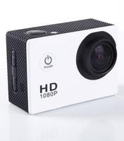 Wholesale SJ4000 style A9 Inch LCD Screen P Full HD Action Camera M Waterproof Camcorders SJcam Helmet Sport DV Car DVR Camera Diving