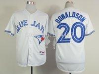 baseball jersey lettering - 2015 Toronto Blue Jays jersey Josh Donaldson Jersey Baseball Jersey Stitched Name Lettering