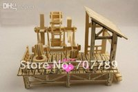 agricultural machinery - Limited Rushed Wooden Toys d Wood Puzzle Model Miniature Doll House Toy Chinese Agricultural Machinery