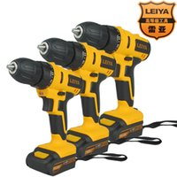 Wholesale Rhea V V lithium rechargeable drill electric screwdriver Cordless screwdriver hand drill