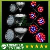 Wholesale Full Spectrum LED Grow Light W W W W W W E27 Grow Lamp PAR38 PAR30 Bulb Flower Plant Hydroponics System lights