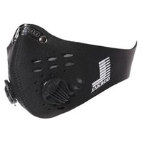 Wholesale Anti pollution bike bicycle cycling motorcycle Face mask outdoor sports mouth muffle dustproof with filter in stock new