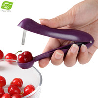Wholesale Creative Kitchen Cherry Seed Tools Nordic Cherry Pitter Dig Corer Device Fruit Pitter Fast Enucleate Cherry Keep Complete dandys