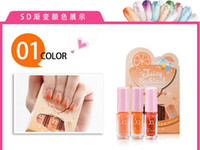 Wholesale 2015 new product Magic gradient nail polish installed new listing high quality color quality assurance